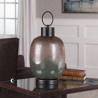 Uttermost Kalamaria Rustic Bronze Urn