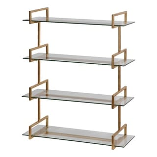 Link to Uttermost Auley Gold Wall Shelf Similar Items in Accent Pieces