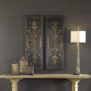 Uttermost Melani Decorative Panels (Set of 2)