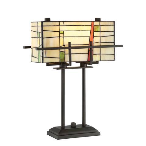 Lite Source 2-Light Mansur Table Lamp