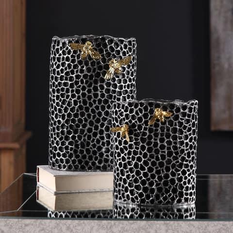 Uttermost Hive Vases (Set of 2)