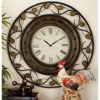 Studio 350 Metal Wall Clock 36 inches D