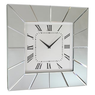 Allie Mirror Frame Wall Clock