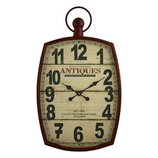 Annalise Pocket Watch Wall Clock