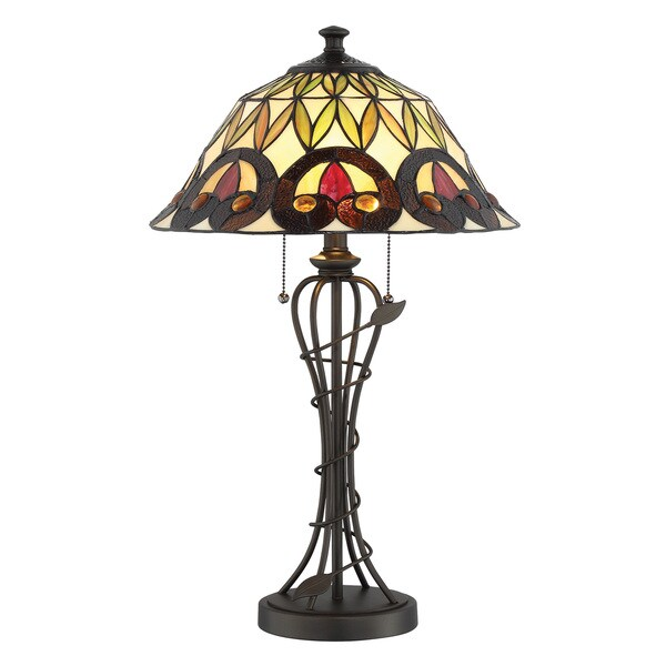 Lite Source 2-Light Odetta Table Lamp