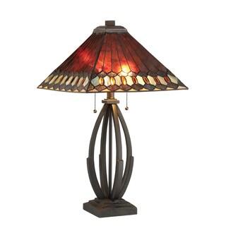 Lite Source 2-Light Hadria Table Lamp