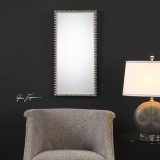Uttermost Serna Antiqued Silver Mirror - 16x32x1