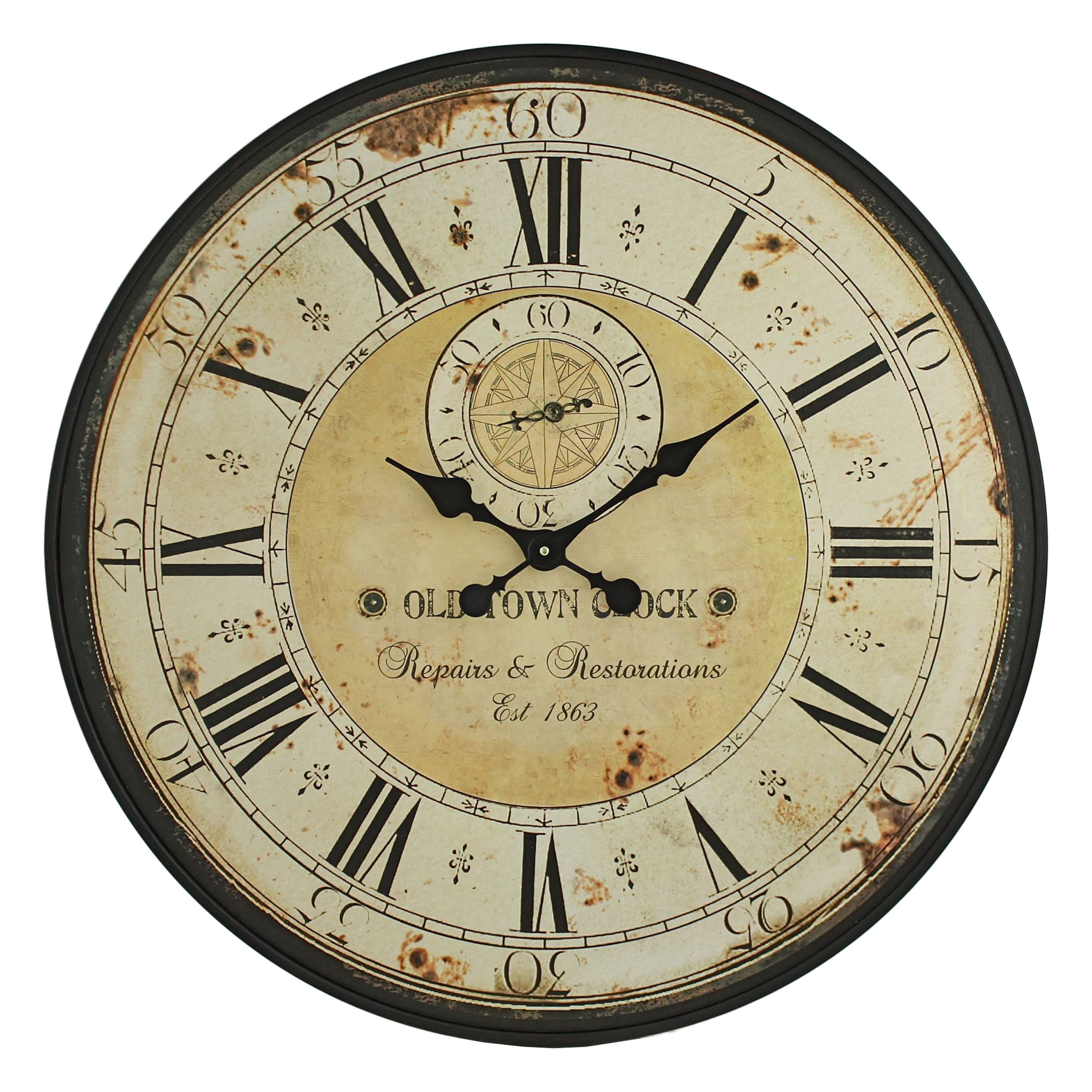 Shop Simona Round Wall Clock - Free Shipping On Orders Over $45 ...