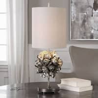 Uttermost Nipa Palm Accent Lamp - Champagne