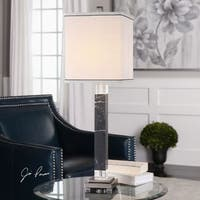 Uttermost Brigida Black Marble Accent Lamps
