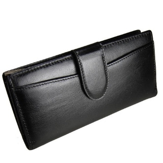 Link to Castello Black Leather Zip-around Wallet Similar Items in Wallets