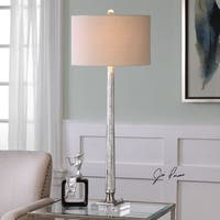 Uttermost Fiona Ribbed Mercury Glass Lamp