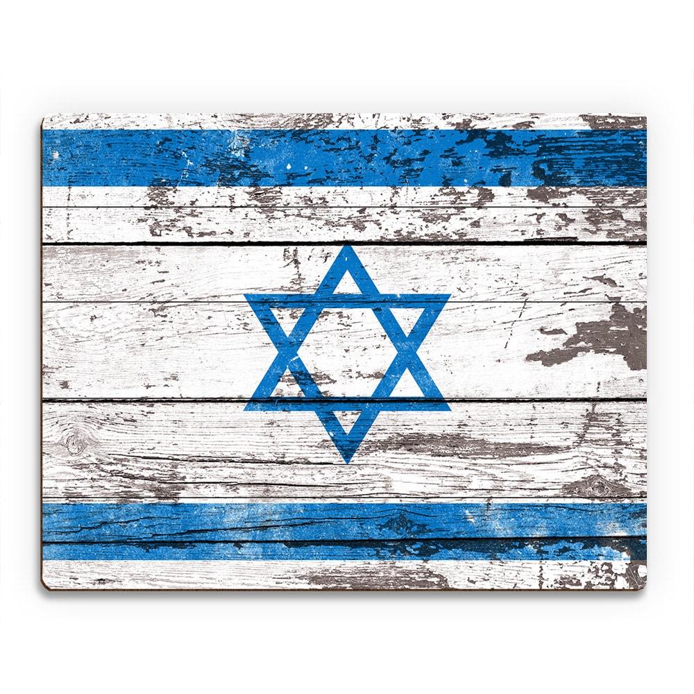 Hanukkah Wall Flag Plank