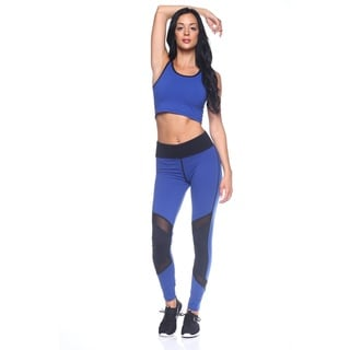Women's Nylon Athletic Full-length Leggings