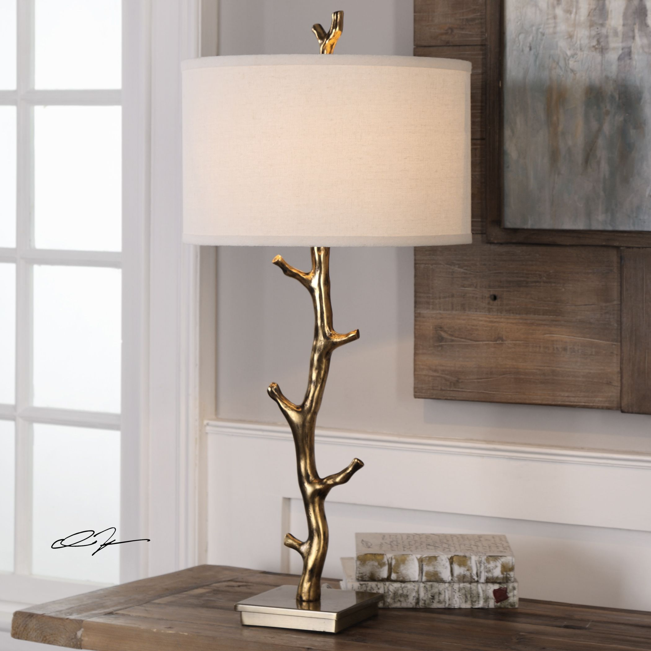 Uttermost Javor Tree Branch Table Lamp (Table Lamp)