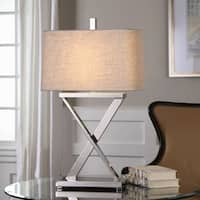 Uttermost Xavier Nickel Table Lamp - Silver