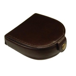 Castello Italian Leather Horseshoe Coin Wallet