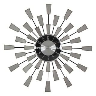 Levi Contemporary Mirror Wall Clock