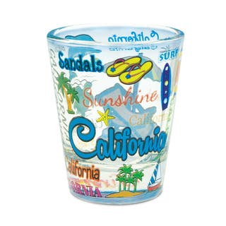 Puzzled California Style California Style Famous Sites Theme Shot Glass|https://ak1.ostkcdn.com/images/products/13570525/P20245530.jpg?impolicy=medium