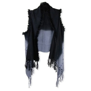 Handmade Saachi Women's Ombre Open Front Vest (China)