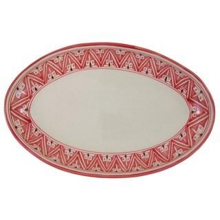 Stoneware Poultry Platter - Nejma Design, by Le Souk Ceramique