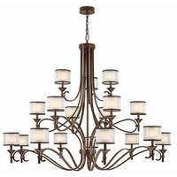 Kichler Lighting Lacey Collection 18-light Mission Bronze Chandelier