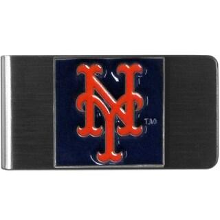 Siskiyou MLB New York Mets Stainless Steel Sports Team Logo Money Clip