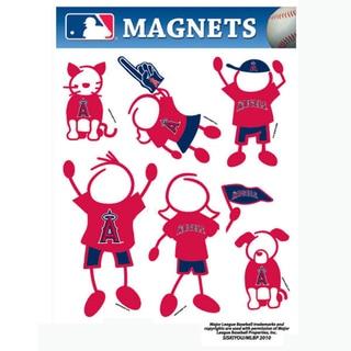 Siskiyou MLB Los Angeles Angels of Anaheim Family Magnet Set