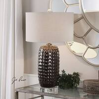 Uttermost Mazur Dark Bronze Table Lamp