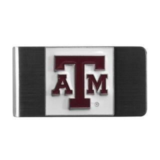 Siskiyou College NCAA Texas A M Aggies Sports Team Logo Steel Money Clip