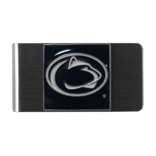 Siskiyou College NCAA Penn St. Nittany Lions Black/Grey/White Steel Money Clip