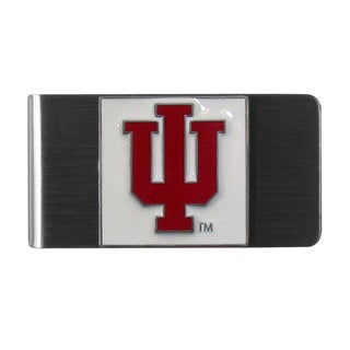 Siskiyou NCAA Indiana Hoosiers Logo Steel Money Clip
