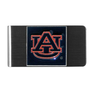 Siskiyou College NCAA Auburn Tigers Stainless Steel Sports Team Logo Money Clip