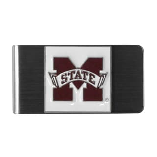 Siskiyou College NCAA Mississippi St. Bulldogs Sports Team Logo Steel Money Clip