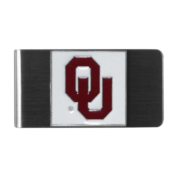 Siskiyou College NCAA Oklahoma Sooners Sports Team Logo Steel Money Clip
