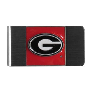 Siskiyou NCAA Georgia Bulldogs Steel Money Clip