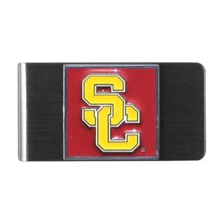 Siskiyou NCAA USC Trojans Stainless Steel Sports Team Logo Money Clip
