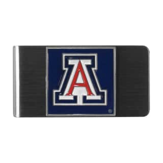 Siskiyou College NCAA Arizona Wildcats Multicolored Steel Money Clip