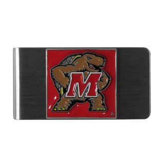 Siskiyou College NCAA Maryland Terrapins Steel Sports Team Logo Money Clip