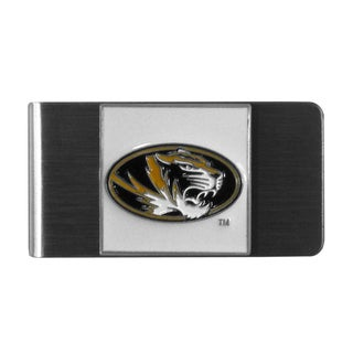 Siskiyou NCAA Missouri Tigers Stainless Steel Sports Team Logo Money Clip