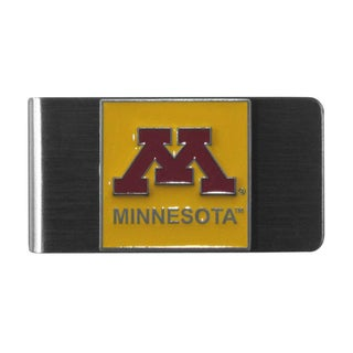 Siskiyou College NCAA Minnesota Golden Gophers Sports Team Logo Steel Money Clip
