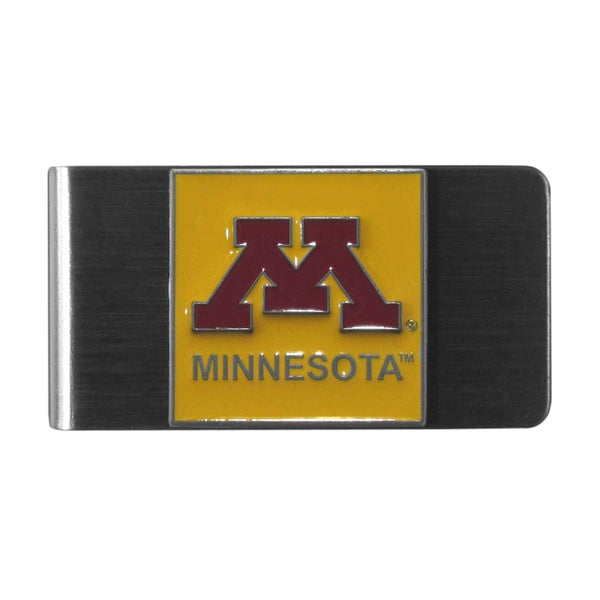 Siskiyou College NCAA Minnesota Golden Gophers Sports Team Logo Steel Money Clip