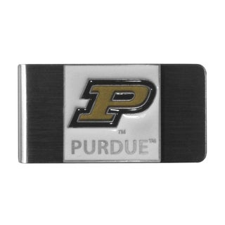 Siskiyou College NCAA Purdue Boilermakers Sports Team Logo Steel Money Clip
