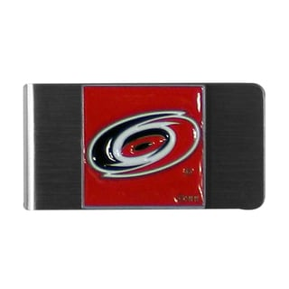 NHL Carolina Hurricanes Stainless Steel Sports Team Logo Money Clip