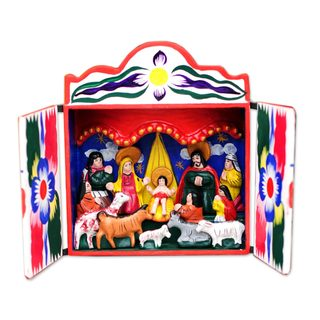Nativity Scene, 'Great Day' (Peru)