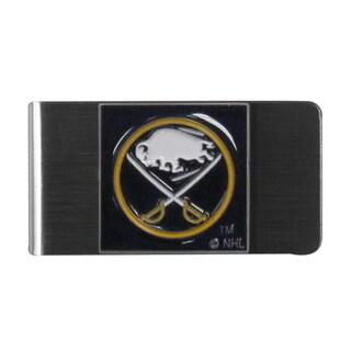 NHL Buffalo Sabres Sports Team Logo Steel Money Clip