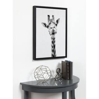 43bbbc8f1e4 Quick View.  49.99. See Price in Cart. DesignOvation Simon Te Tai  Giraffe  Portrait  Black White Framed Canvas Wall Art
