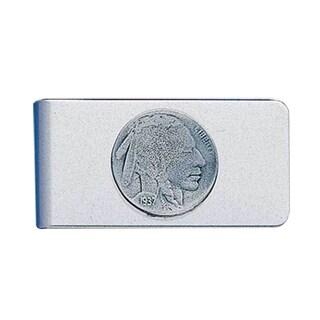 Indian Head Nickel Sculpted Money Clip