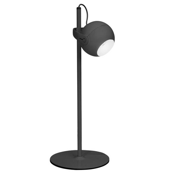 Focus Contemporary LED Desk Lamp in Black