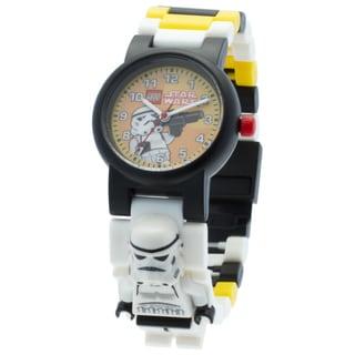 LEGO Star Wars Stormtrooper Kid's Interchangeable Links Minifigure Watch